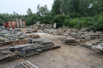 Large Inventory of Reclaimed Curbing and Steps - 2010