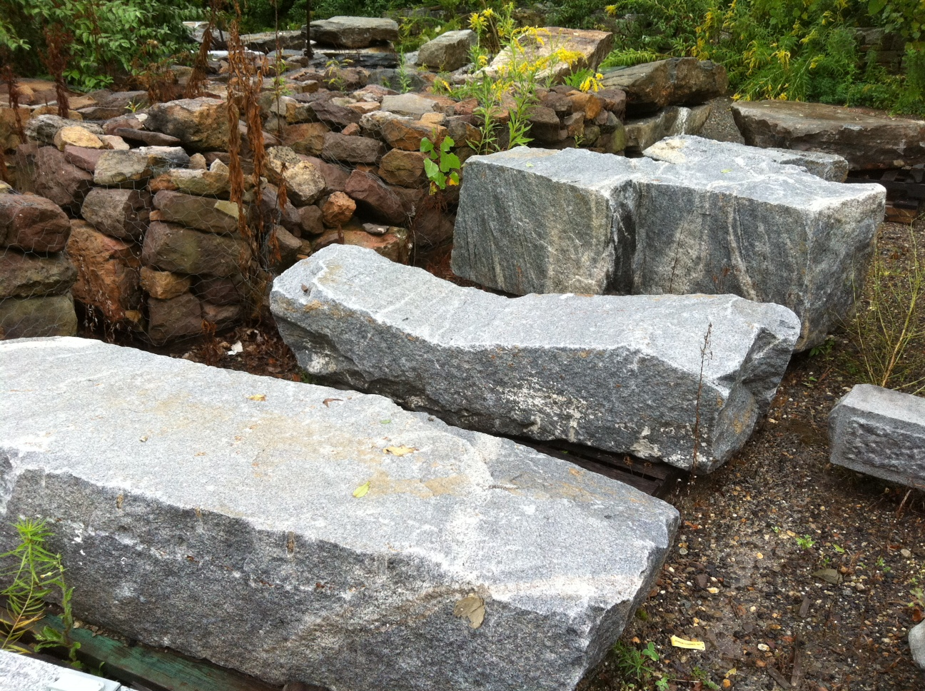 Monolithic Granite Benches Stone Of New England